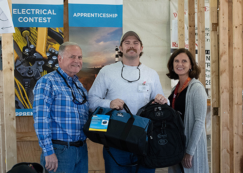 NC Sate Fair Electrical Apprentice Contest winner